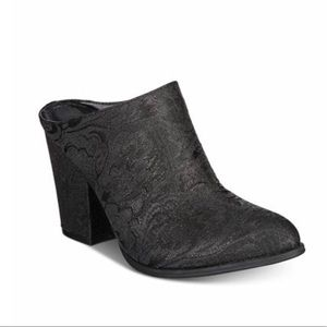 Kenneth Cole Reaction Tap Dance Mules - 7.5